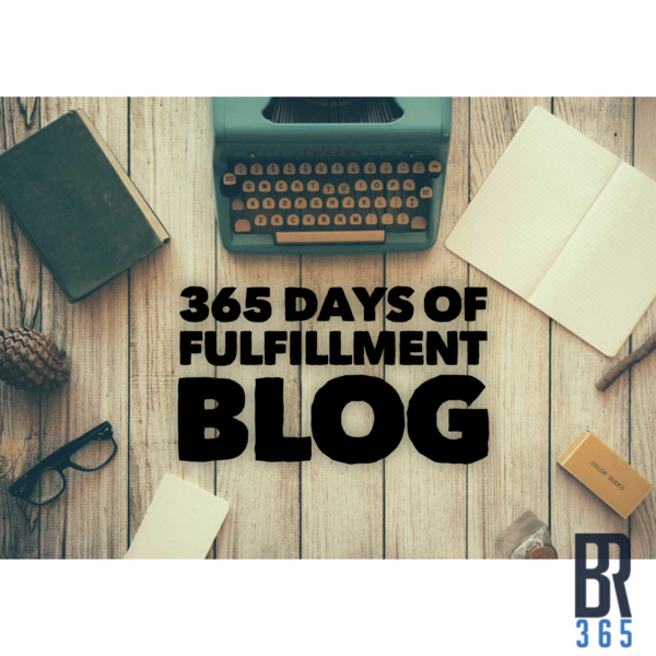 Brandon Rynka 365 Day Fulfillment Blog